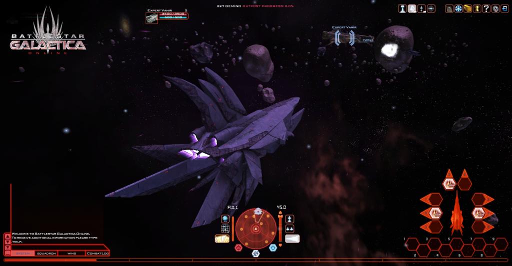 battlestar galactica online корабли