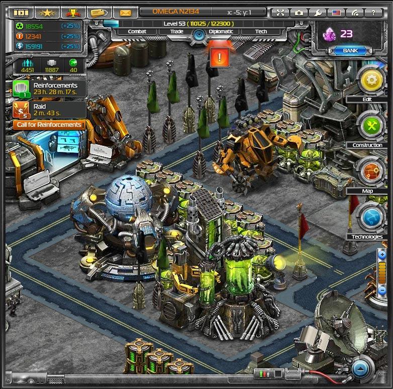 игра правила войны робот