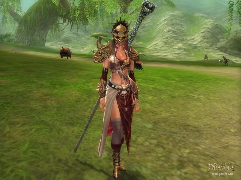 world of dragons персонаж