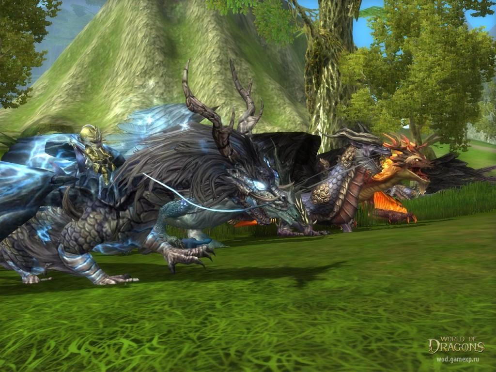 world of dragons ездовые животные