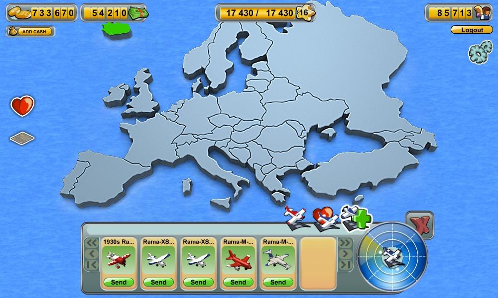 Skyrama - карта