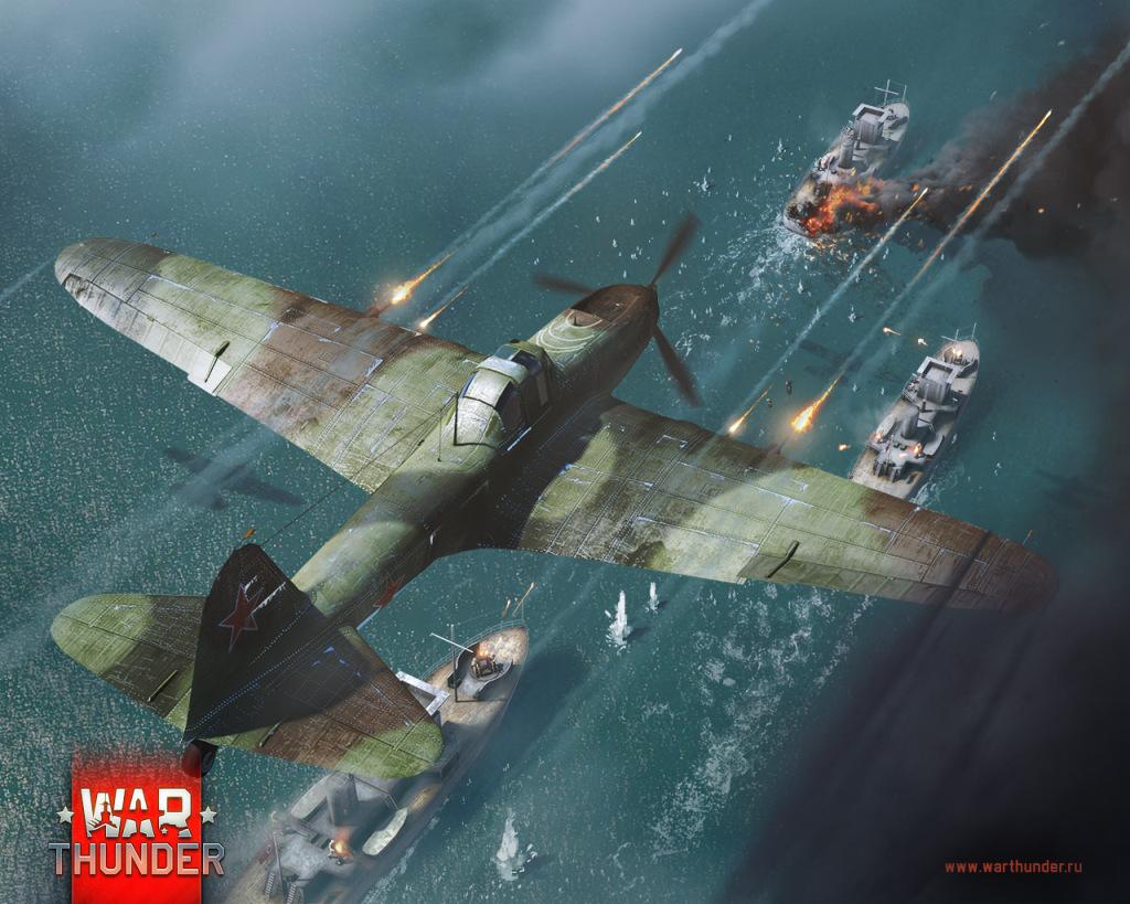 самолеты корабли в War Thunder