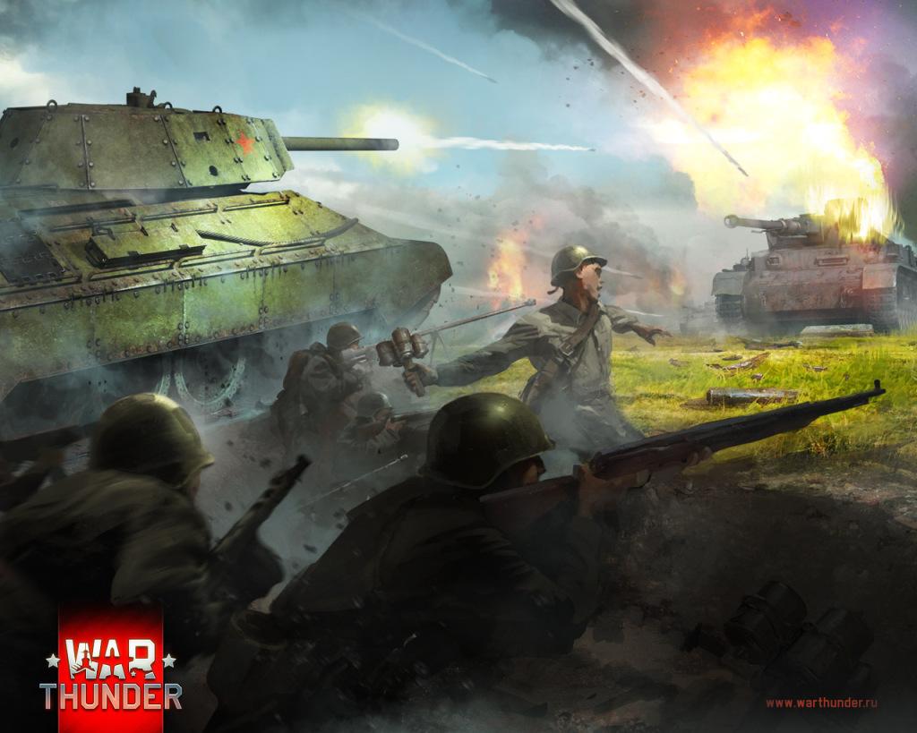 Танкисты в игре War Thunder