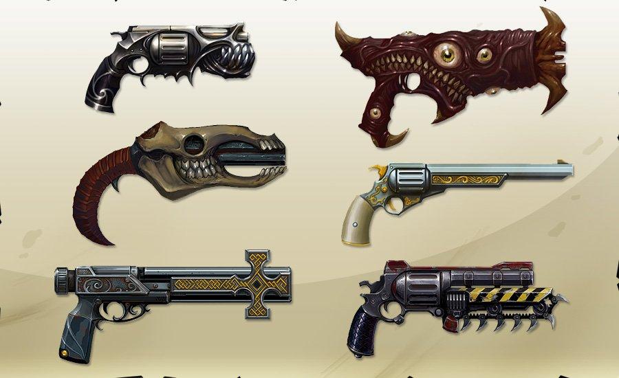 улучшенные пушки