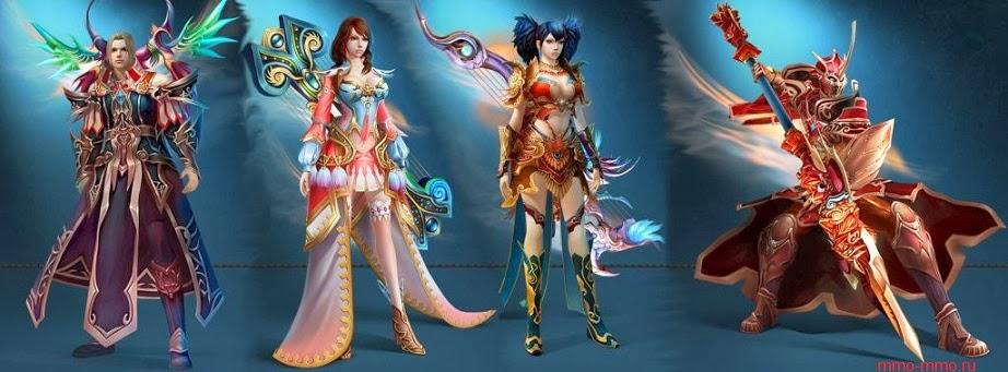 Скриншоты игры персонажи