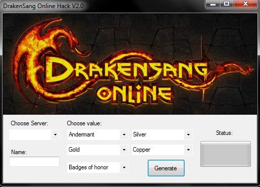 drakensang-online генератор читов