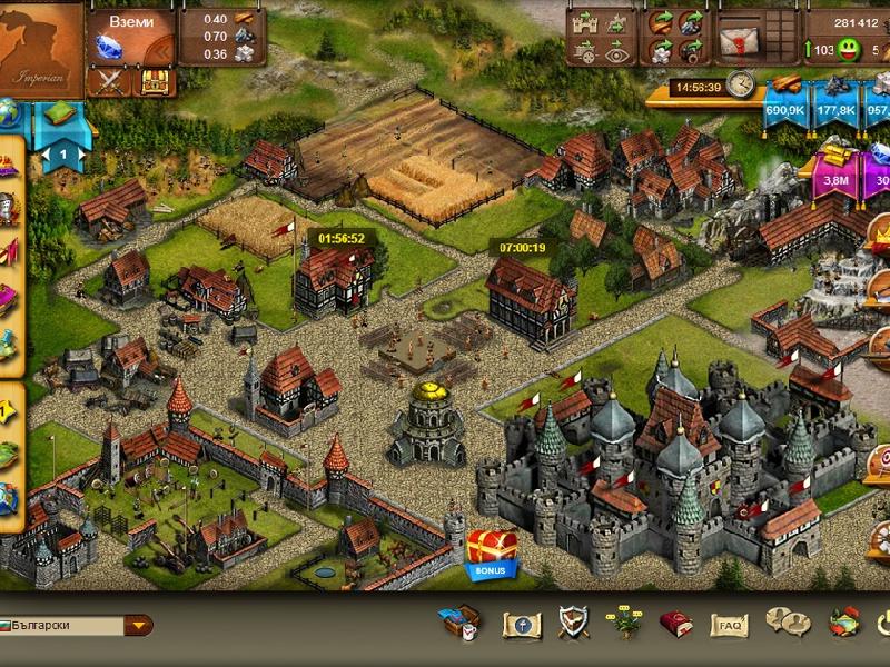 Скриншоты Imperia Online